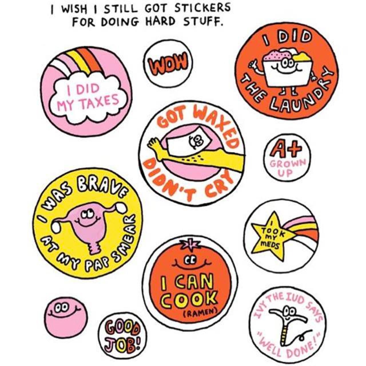 Wish i still got stickers sticker sheets