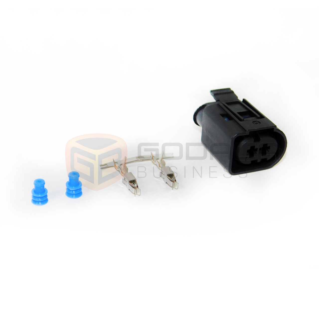 1x Connector 2 pin for tyco BMW Mercedes Benz 1-967412-2 w/out wire ...