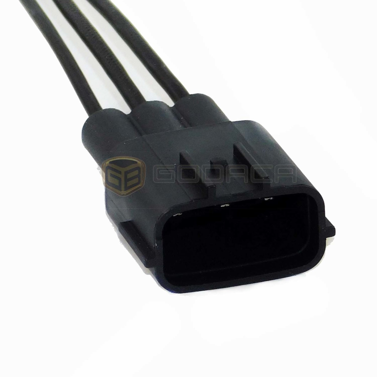 1x male connector for mazda nissan 3