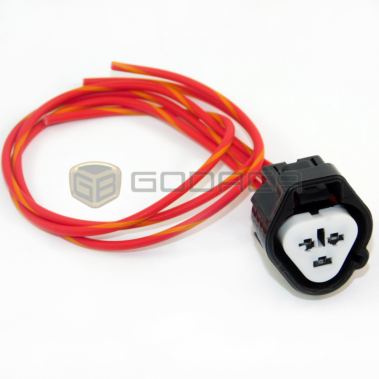 Toyota Wiring Harness Connector 11428 Diagram Database Pins 1x 3 Pin Way Repair Pigtail For 90980 11016 Adapter