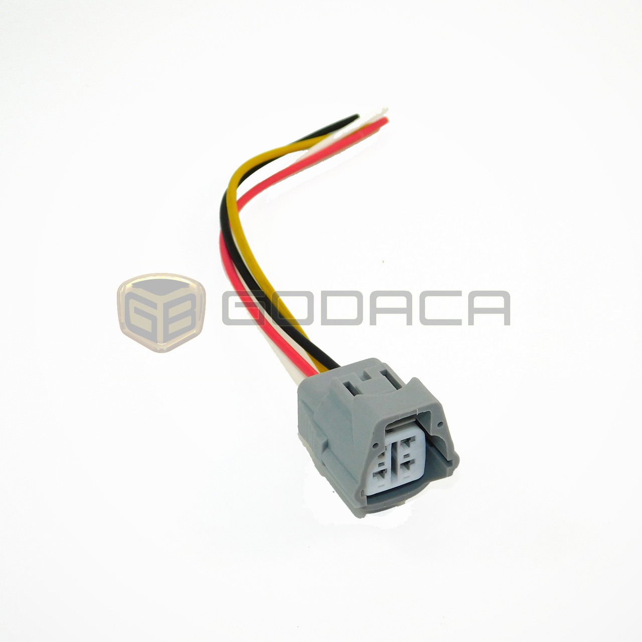 1 x connector 4 way toyota 2jz a c 4p connector pigtail wiring rh godaca com wiring connectors and pigtails for auto Engine Wiring Pigtails