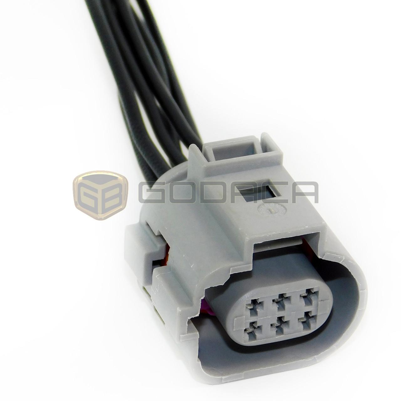 1x 6 pin connector pigtail ford transit egr valve wiring repair kit rh godaca com ford transit egr valve wiring Ford EGR Valve Cleaning