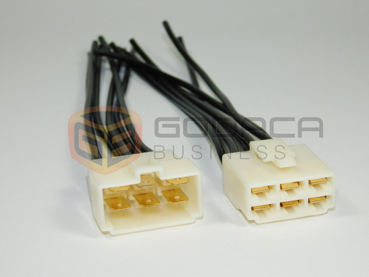 1 x Set Female and Male Connector Plug 6-way 6 pin Waterproof ...