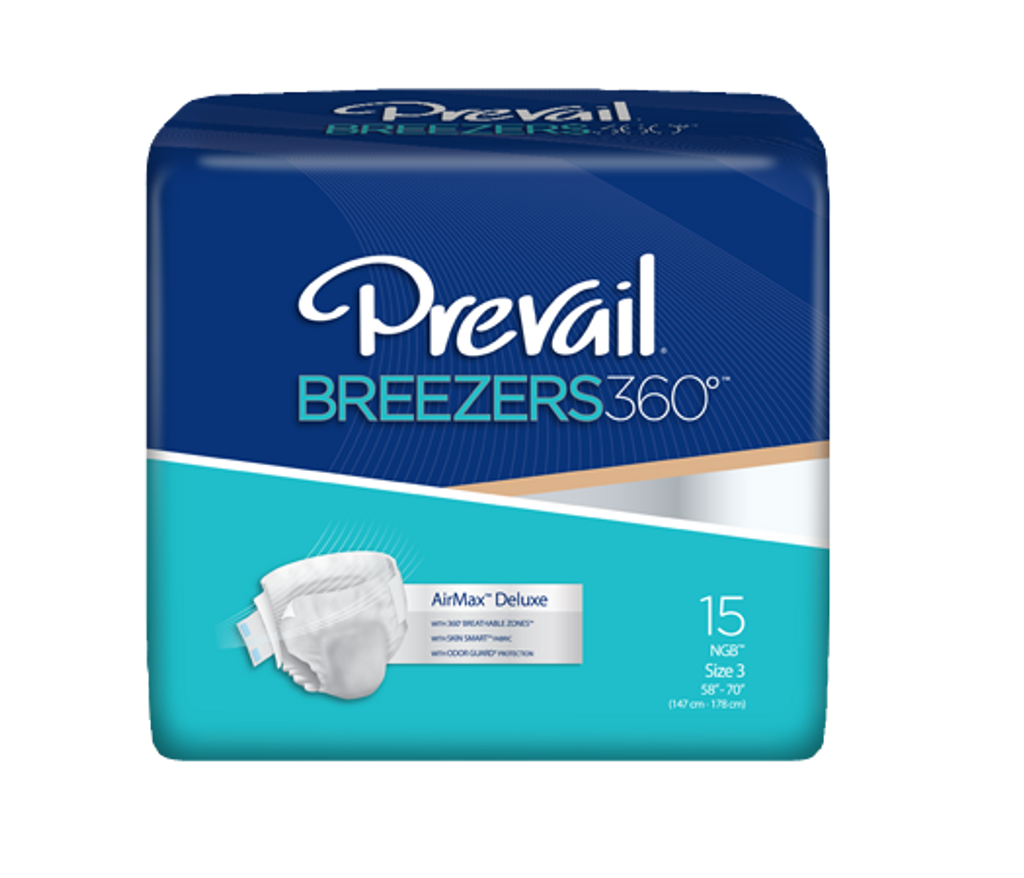 Prevail Breezers 360, Size 3