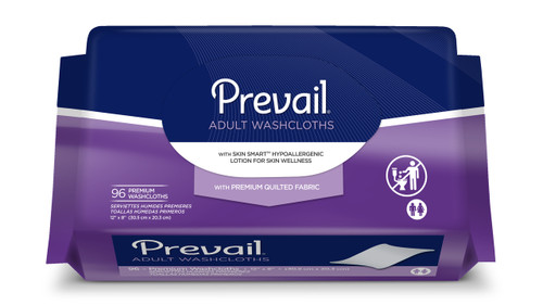 Prevail Premium Adult Washcloths Refill  (Single Pack) WW-902