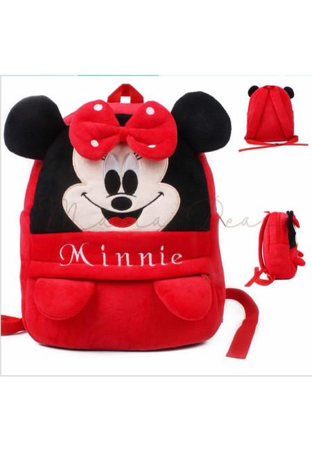 Minnie Mouse Kids Fur Bag (Big)