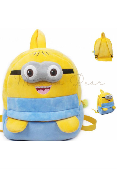 Minion Kids Fur Bag (Big)