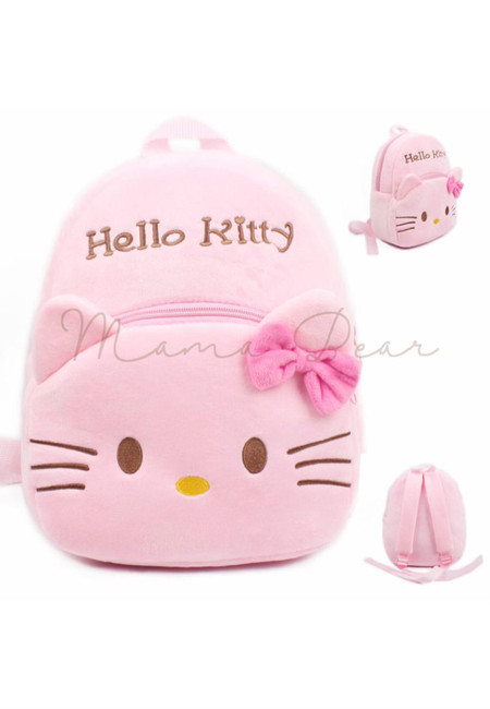 Cute Hello Kitty Kids Fur Bag