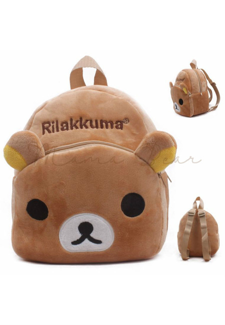 Cute Rilakkuma Kids Fur Bag (Small)