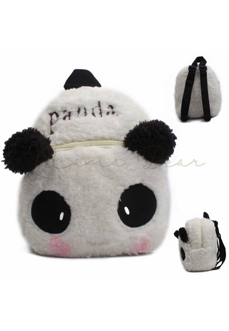Blushing Panda Kids Fur Bag (Small)