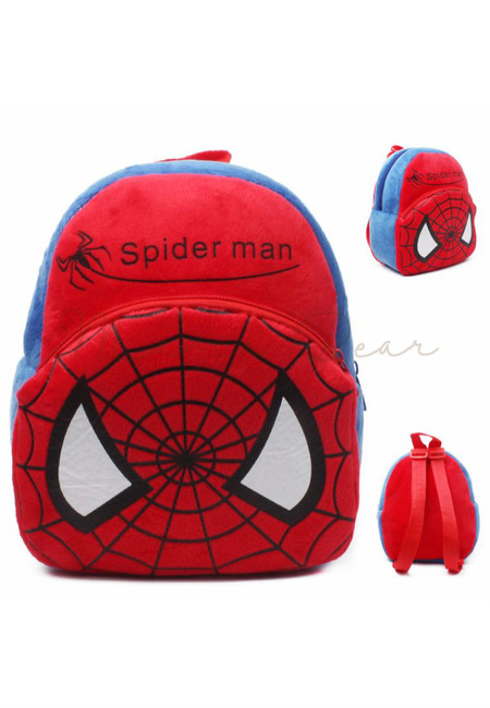 Little Spiderman Kids Fur Bag (Small)