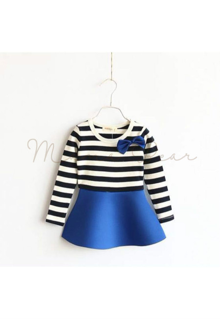 Lovely Stripes Kid Dress