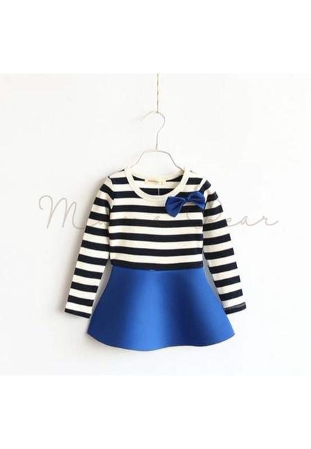 Lovely Stripes Kid Dress