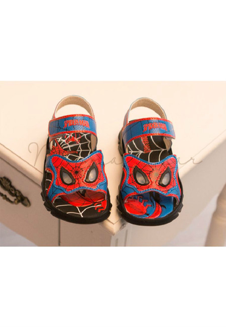 Lighting Eyes Spiderman Non Slip Sandals