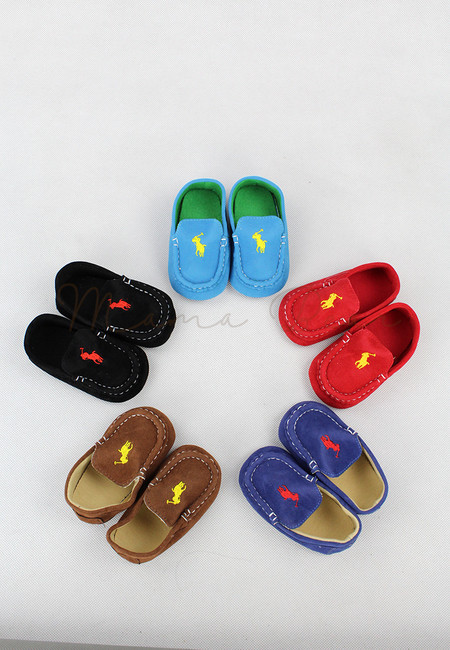Polo Print Baby Casual Shoes