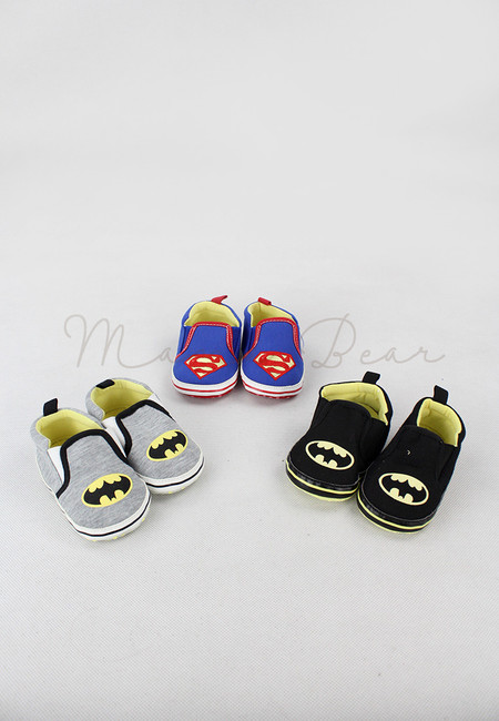 Superheroes Print Classic Baby Shoes