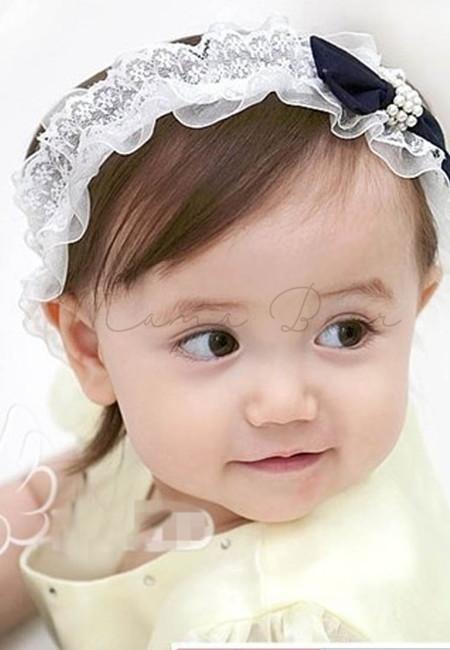 Sophisticated Ribbon Bow Baby Headband