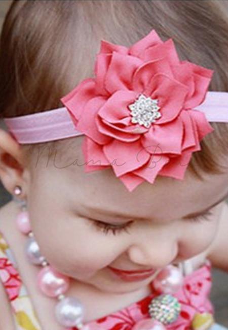 Lotus Leaves Flower Headband