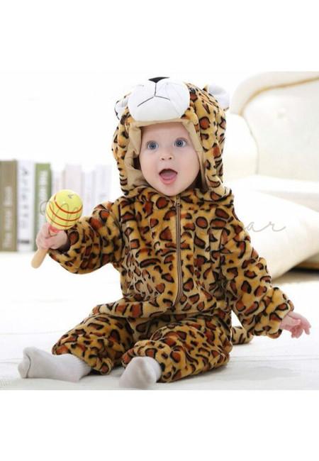 Leopard Baby Onesies