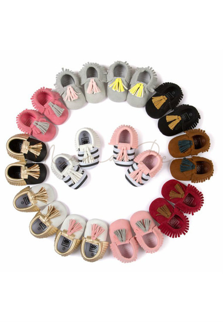 Fancy Fringe Casual Baby Shoes