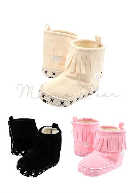 Tassel Fringe Baby Boots