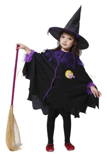 Witchy Wizard Kids Costume