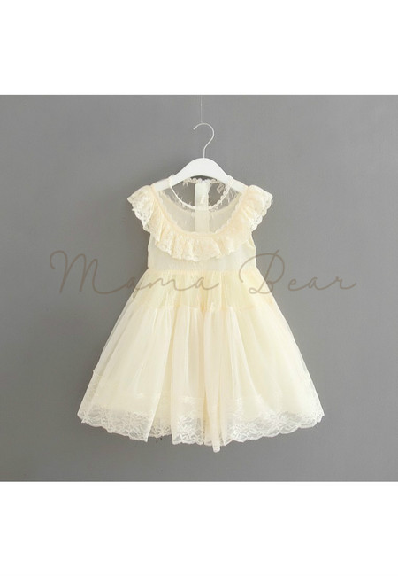 Flower Fairy Lace Kids Dress