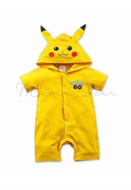 Little Pikachu Baby BodySuit