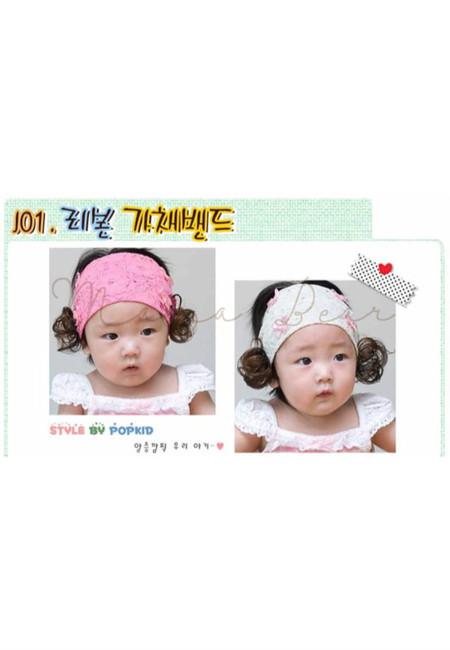 Cute Bow Synthetic Hair Headband