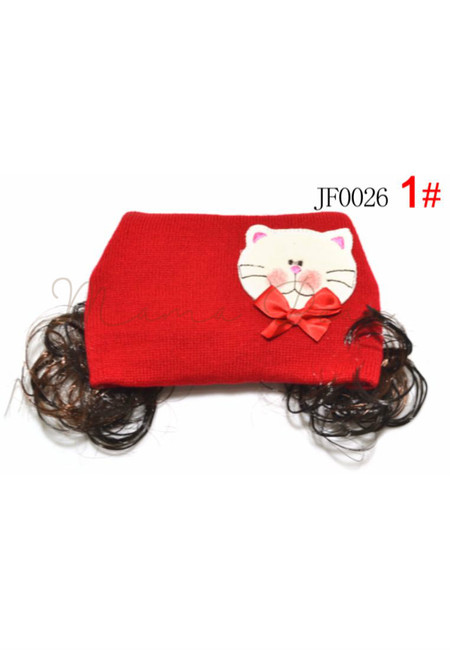 Cute Cat Synthetic Hair Beanie