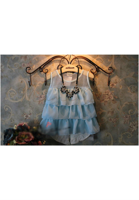 Chiffon Mesh Kid Top/Dress