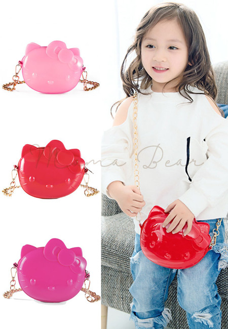 Kid Girl Anime Design 2-in-1 Handbag Sling Bag Backpack (6 Colors … 6ee09d7de5