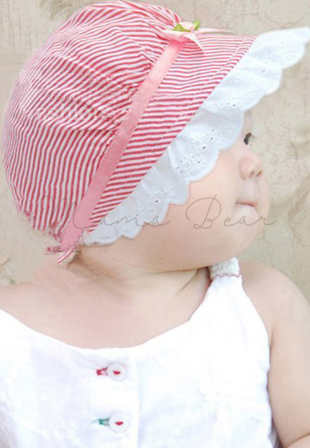 Flower Stripes Hat