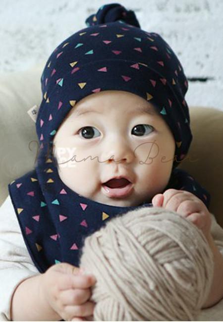 Origami Design Baby Hat