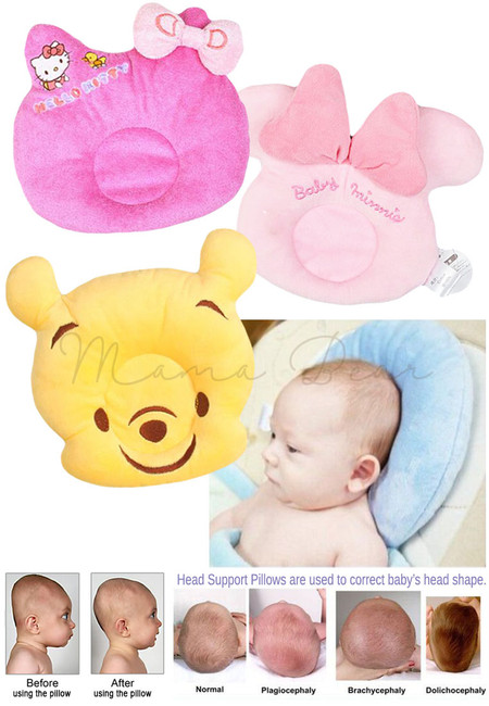 Baby Headrest Fluffy Pillow and Stuff Toy