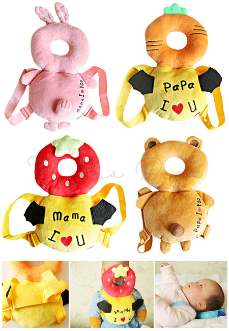 Baby Safety Head Protector Travel Plush Pillow