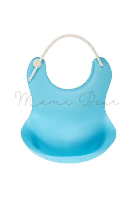 Baby Silicone Food Catcher Bib