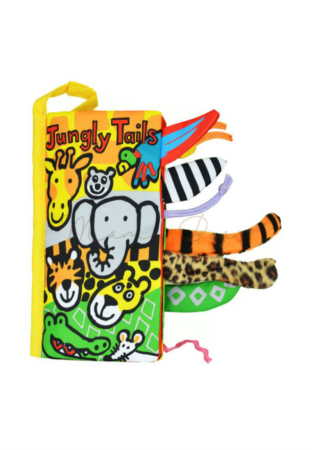 Jungly Tails Soft Cloth Children Activity Book