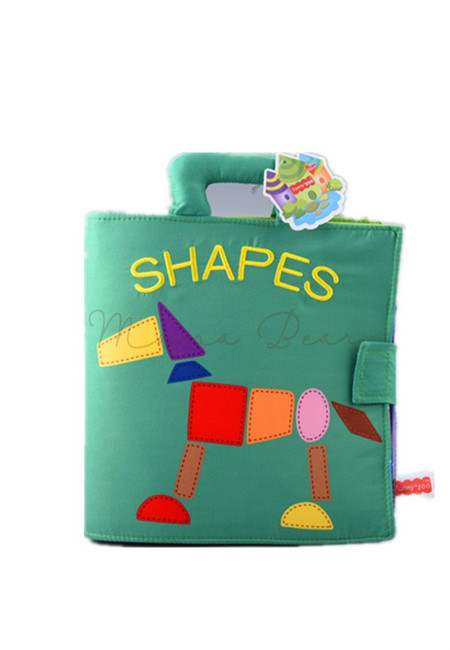 Learn Shapes Baby Soft Cloth Activity Book