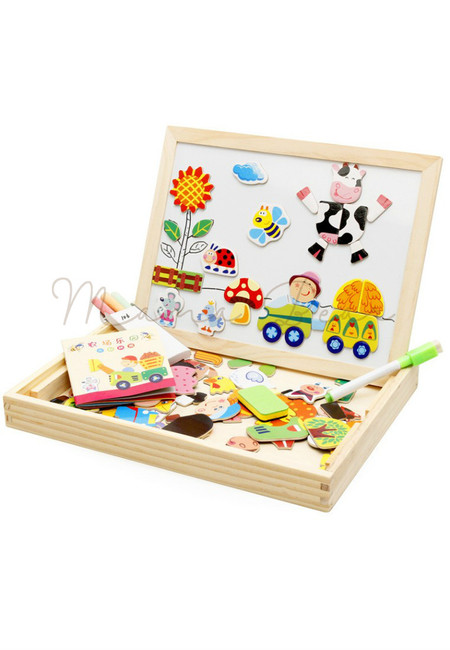 Children Early Learning Picture Board Drawing Writing Educational Toy