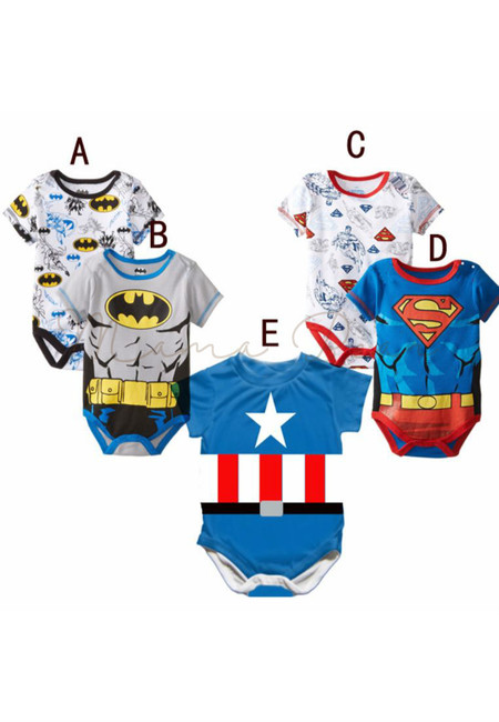 Superhero Infant Babysuit