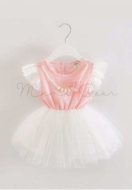 Sweet Pearl Fancy Kids Dress