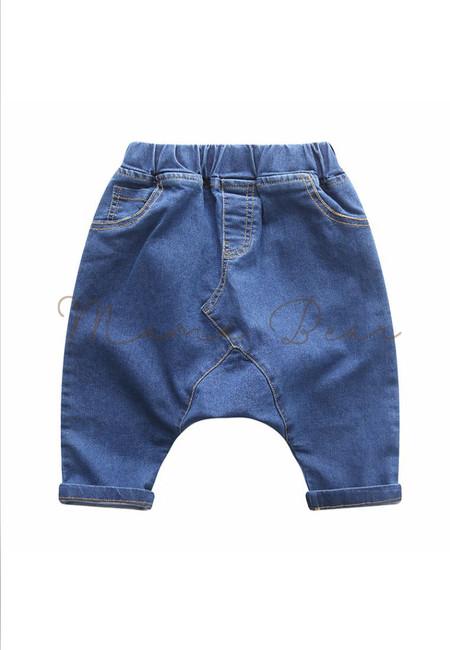 Casual Harem Denim Kids Pants