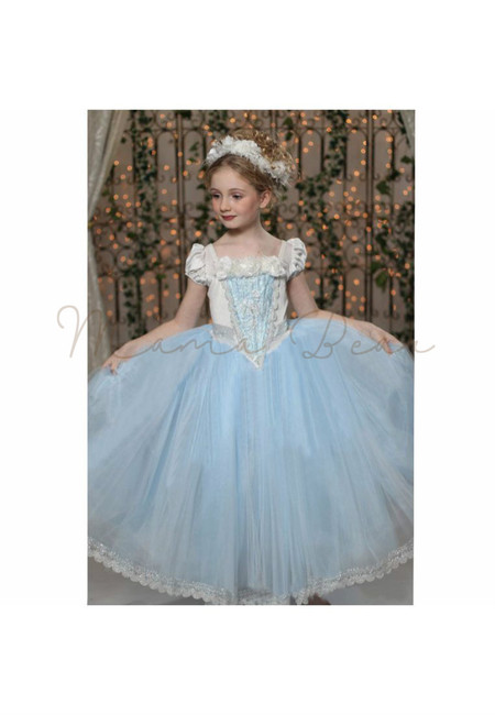 Cinderella Kids Costume With Cloak