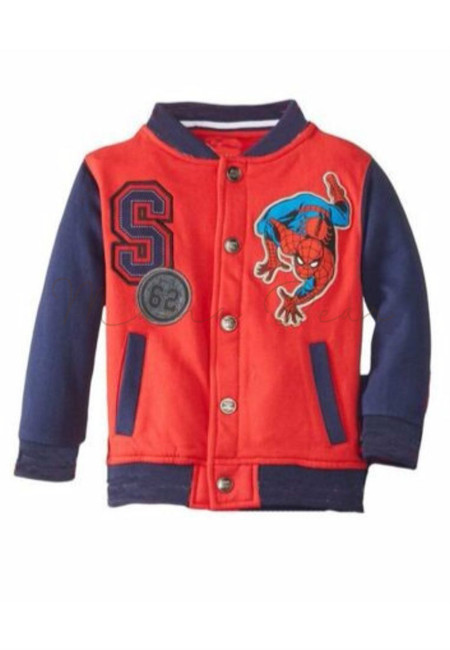 Spiderman Print Kids Jacket