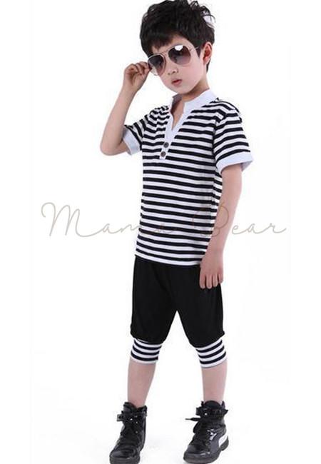 Kid Gentleman Stripes Set