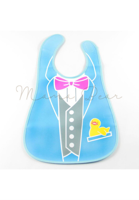 Little Vest Waterproof Baby Bib With Pocket