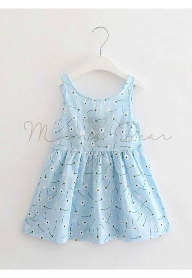 Wishing Flower Sleeveless Dress