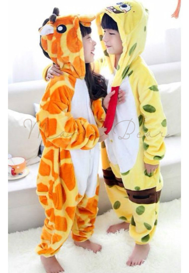 Giraffe or Spongebob Kids Onesies