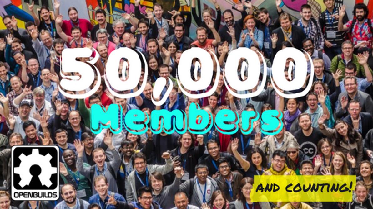 50,000 Members